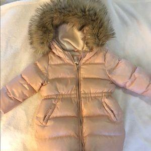 Baby GAP hooded puffer jacket